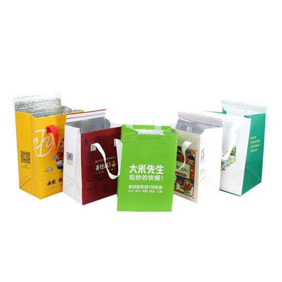 Wholesale Non Woven Insulated Cooler Bag, Lunch Ice Bag Food Take Away