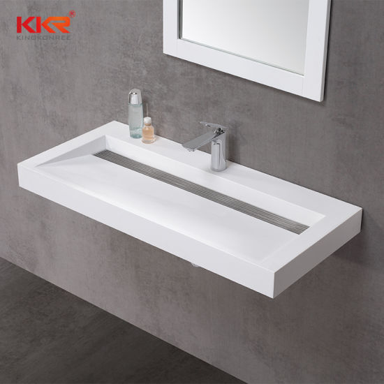 China Artificial Stone Acrylic Resin Corian Solid Surface Cabinet