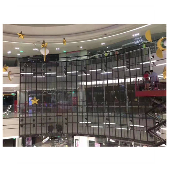 Full Color P3.91 Indoor Transparent LED Display Screen for Advertising