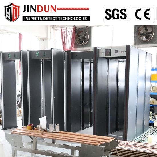 China Factory Sales Frame Metal Detector Security Check Gate