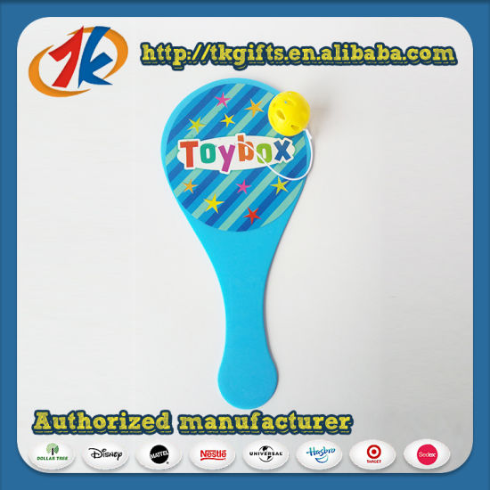 Hot Selling Custom Funny Plastic Paddle Ball Toys for Kids