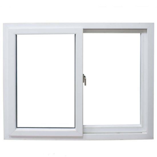 Double Glazing UPVC Sliding Window and Plastic Windows pictures & photos