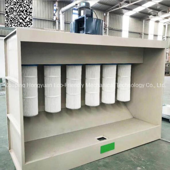 Powder Coating Spray Booth with Powder Baking Oven