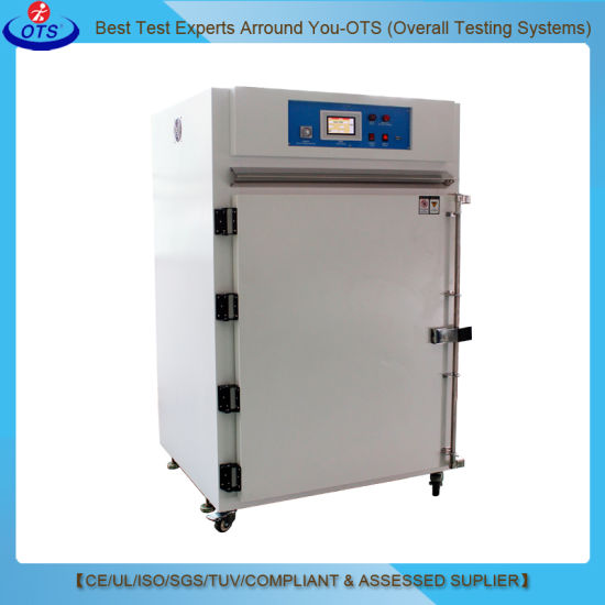 Electronics Lab Equipment High Temperature Vertical Vacuum Hot Air Drying Oven