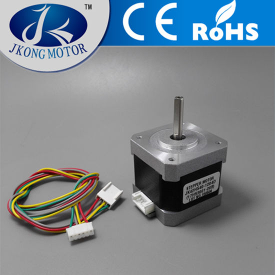 3D Printer Stepper Motor with NEMA17 Size D Shaft with 1 Meter Leading Wires