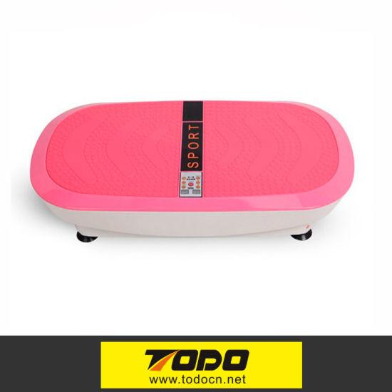 a8339a4d329 China LED Body Fitness Vibration Platform Plate Body Shaper Massage ...