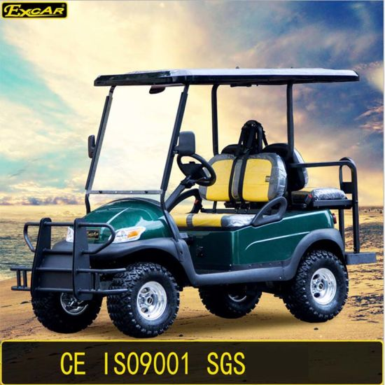 4 Seater Electric Golf Cart Foldable Seat Golf Cart pictures & photos