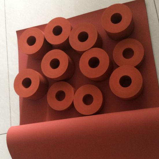 High Pressure Silicone Rubber Roller for Heat Transfer Machine