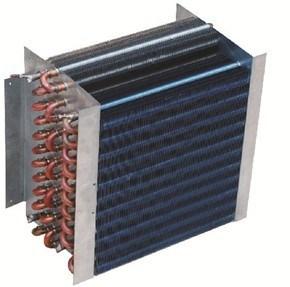 Heat Exchange Copper Tube Air Cooled Refrigerator Condenser