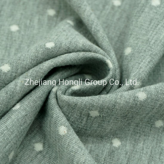 Yarn Dyed Polyester Cotton Jacquard Knit Fabric for Casual Wear