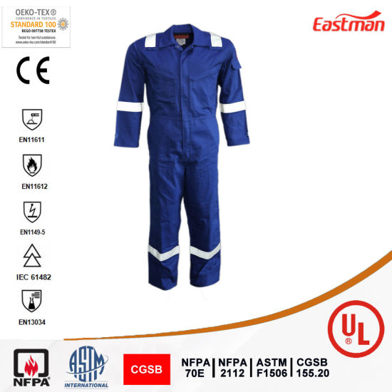Oil Field Gas Station HRC2 Fr Reflective Coverall