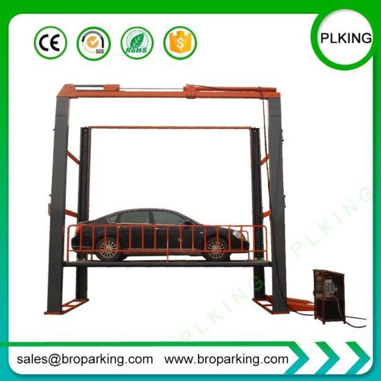 Heavy Duty High Floor Four Post Vertical Hydraulic Auto Car Lift