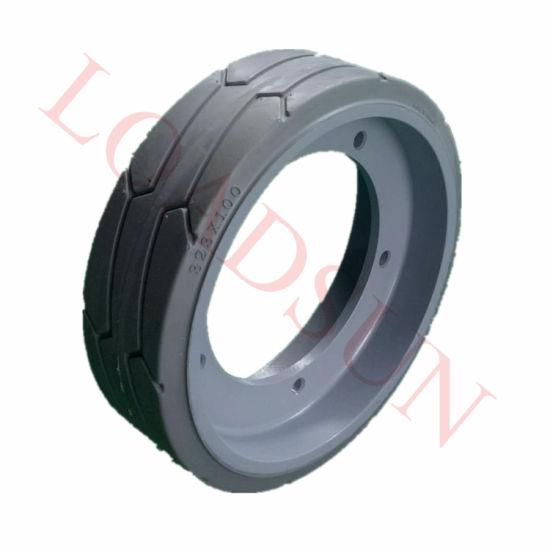 323*100 Aerial Work Platform Scissor Lift Tyre