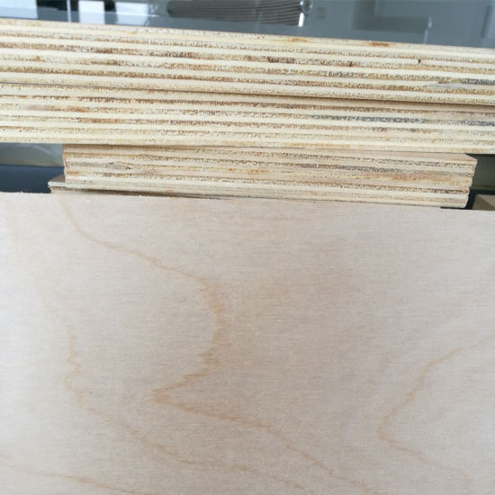 White Birch Plywood Poplar Core Plywood C/D Grade Carb2 Glue pictures & photos