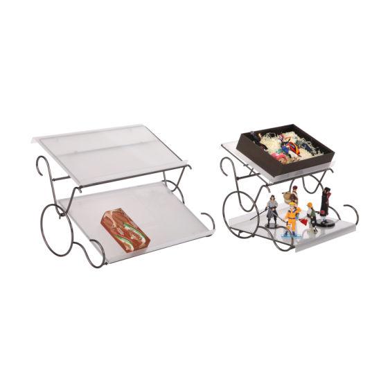 New Designs Metal Craft Fine European Style Iron Flower Shelf