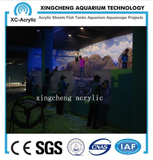 China Customized Transparent Acrylic Aquarium Supplier