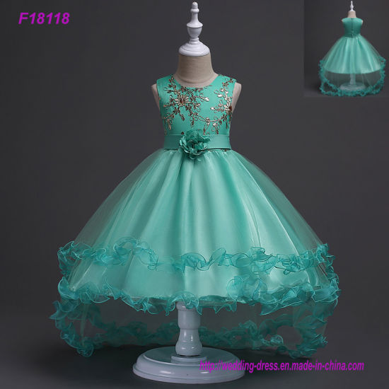 China Flower Girl Dresses Formal Girls Gowns First Commuion Dresses