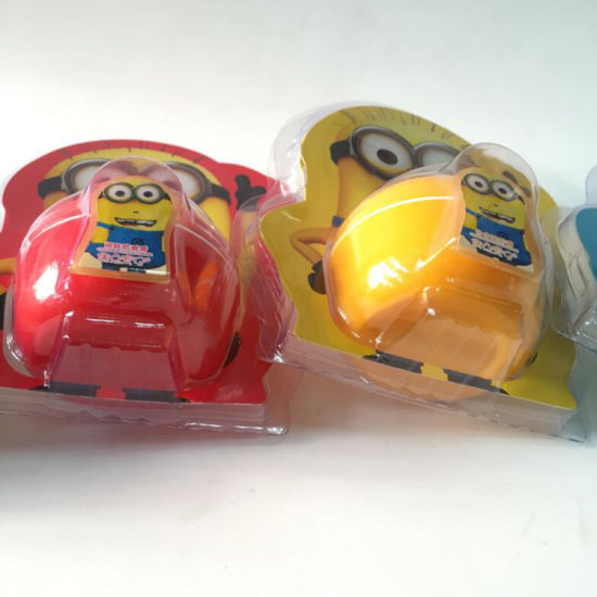PVC Clear Minions Face Cream Blister Packaging Pack pictures & photos