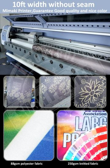 Full Color Polyester Fabric Banner (SS-SF100) pictures & photos