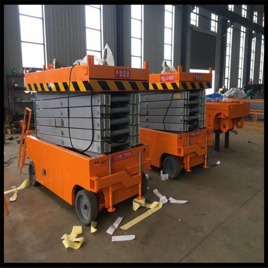 12m Self Propelled Scisso Aerial Lift Table