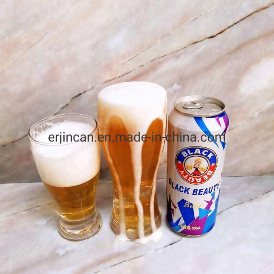 500ml Lager Strong Brown Beer Alcohol 8.0% Vol Beer Brewing