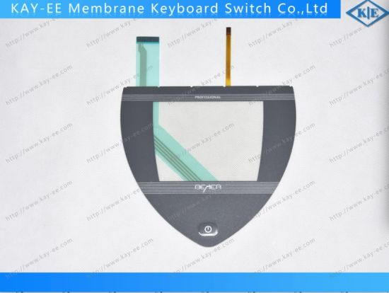 Membrane Switch Keypad with Touch Panel Assembles Control Panel