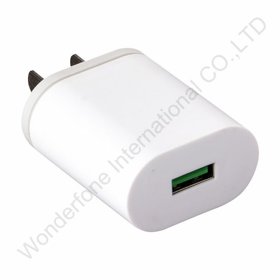 Hot Sale White Optional 1A/2A Travel Charger for Smart Phones pictures & photos