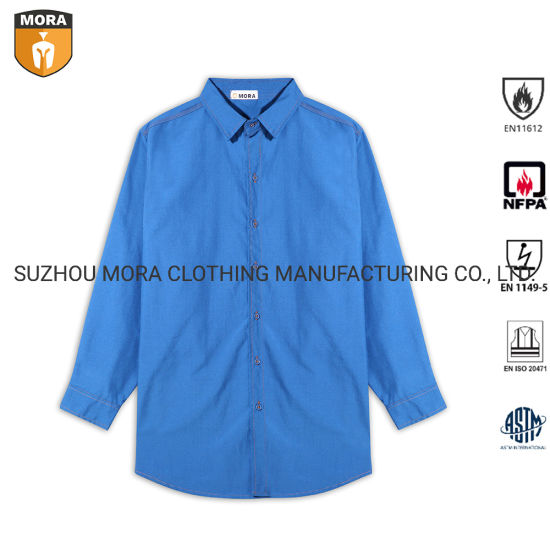 Flame Resistant Clothing Shirts Long Sleeve Shirts