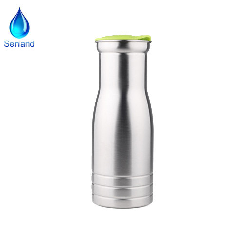 800ml/1L Stainless Steel Single Wall Water Pitcher Carafe Jug for Water, Coffee, Juice (SL-2208)