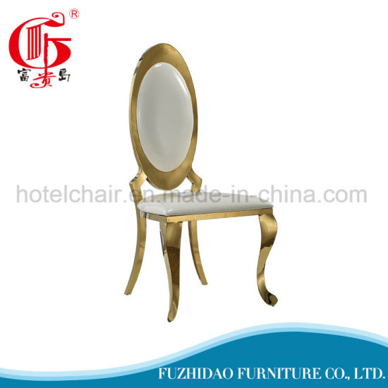High Back Chair Home Furniture Dining Chair Gold Hotel Chairs