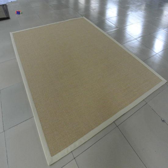 Natural Sisal Latex Backing Sisal Carpet and Mat
