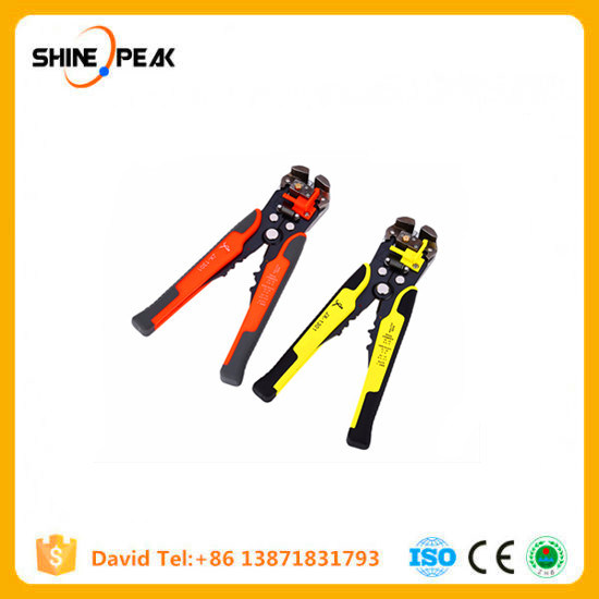 Cable Wire Stripper Cutter Crimper Automatic Multifunctional Tab Terminal Crimping Stripping Plier Tools pictures & photos