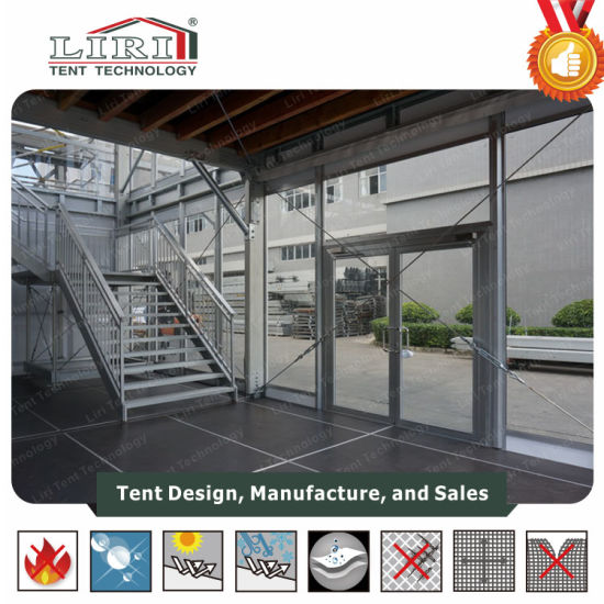 2 Story Tent Double Decker Tent Supplied for Wta Sporting Events & China 2 Story Tent Double Decker Tent Supplied for Wta Sporting ...
