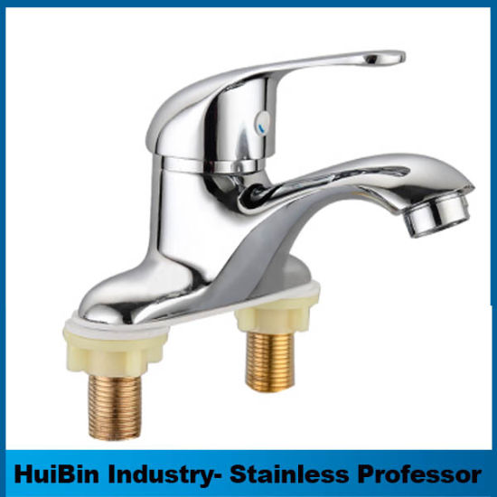 China New Design 3 Hole Bronze Faucet Bathroom, Taiwan Faucet ...
