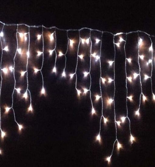 PVC Cable LED Icicle Light String Fairy Light Twinkle Light pictures & photos
