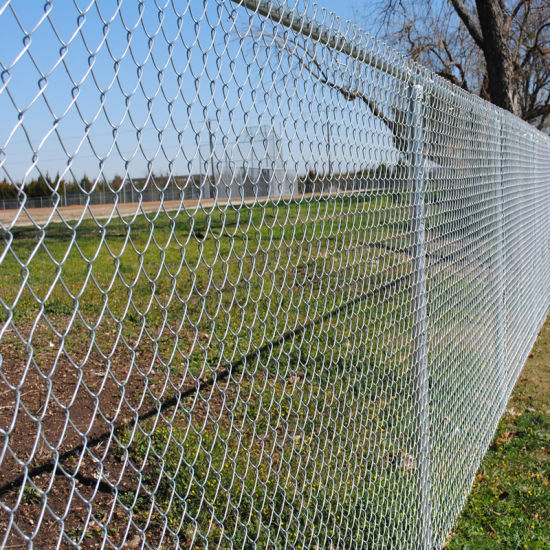 Factory Wholesale PVC Coated Security Diamond Wire Mesh Metal Fence