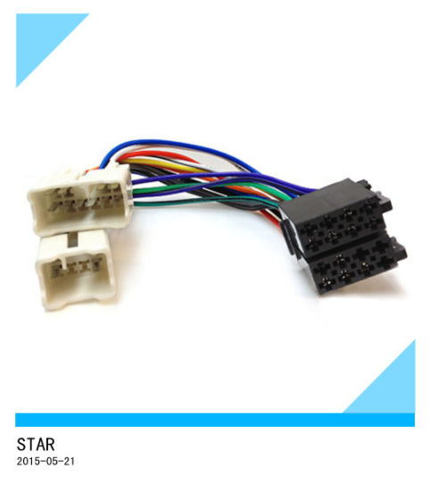 china toyota factory automobile stereo iso wire harness male female rh starconnect en made in china com