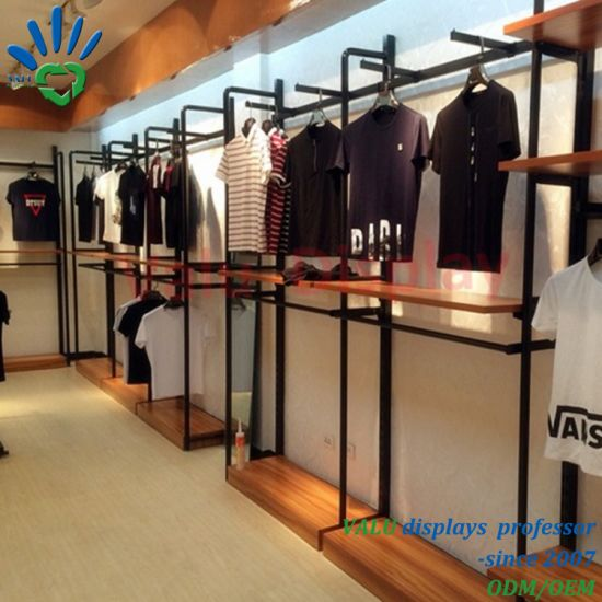 Exhibition Stand Clothes : China metal wire wooden exhibition show for garment clothes colthing