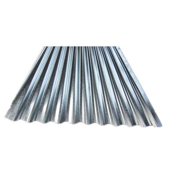 China Jis G3302 Metal Zinc Steel Gi Corrugated Roofing
