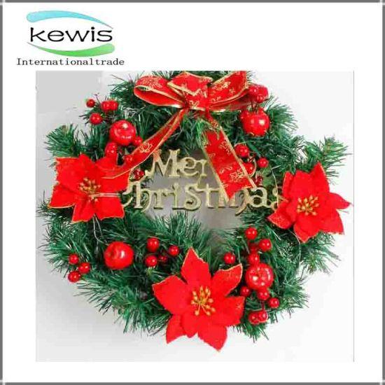 christmas decoration colored artificial christmas garland christmas wreath