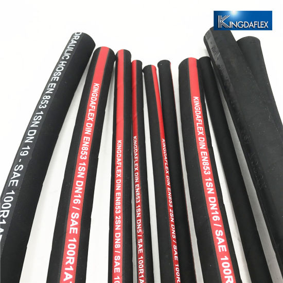 Highly Abrasive Steel Wire Braided Hydraulic Hose