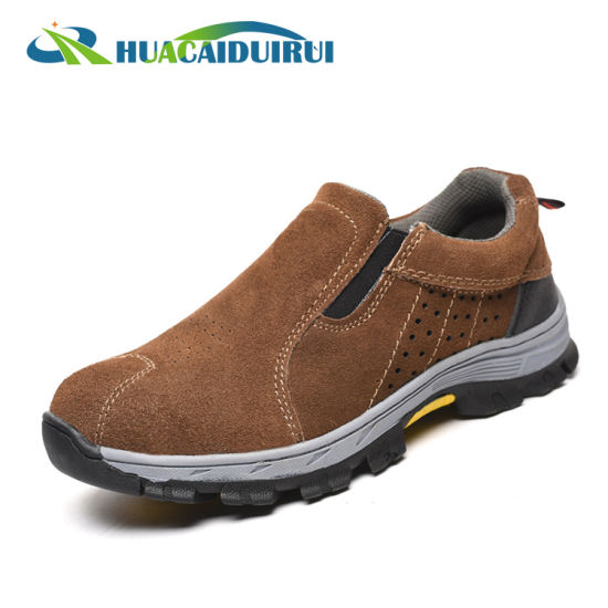China No Lace Korean Style Safety Shoes for Working - China Korean