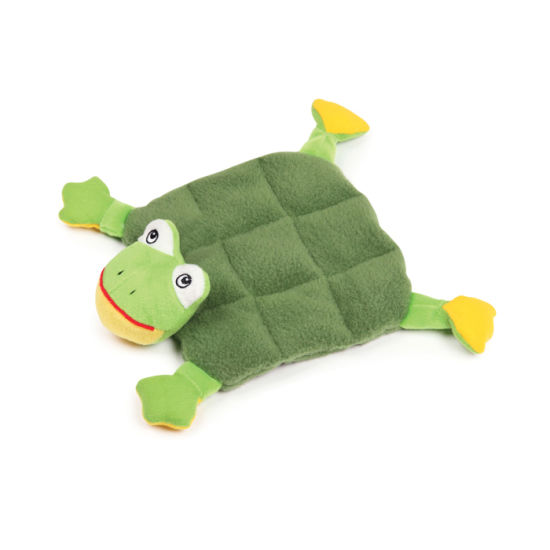 Wholesale Dog Toy Set Squeaky Green Frog Dog Toy pictures & photos
