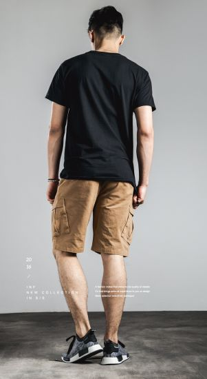 New Style Mens Chinos Shorts with Cargo Pocket pictures & photos