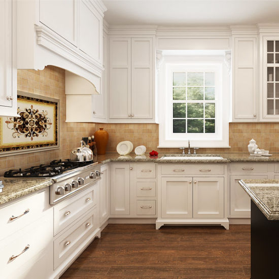 Used Metal Kitchen Cabinets: China Durable Used Stainless Steel Handles White Wood