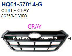 China New Auto-Spare-Parts Front Hood Radiator Grille