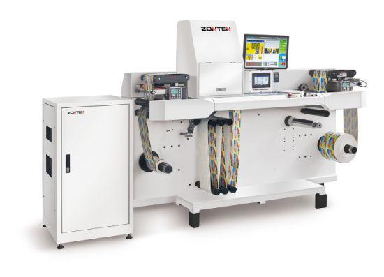 Label Inspection Printing Rewinding Machine Zjp-N8033