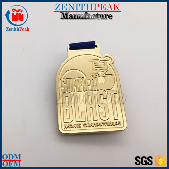 alloy with dkmqgpybzgrd zinc die sports souvenir medal soft cut gold custom metal product enamel china medallion