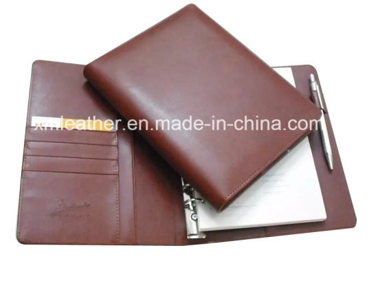A5 PU Leather Filofax Organizer with Ring Binder