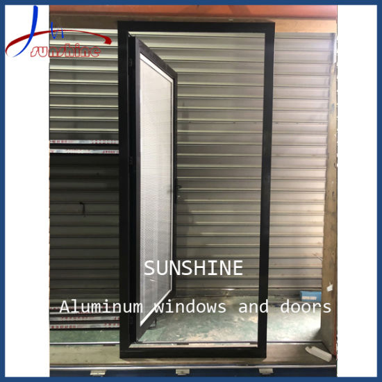 Double Glazing Thermal Break Aluminium/Aluminum French Casement Door, Exterior Door with Competitive Pricing
